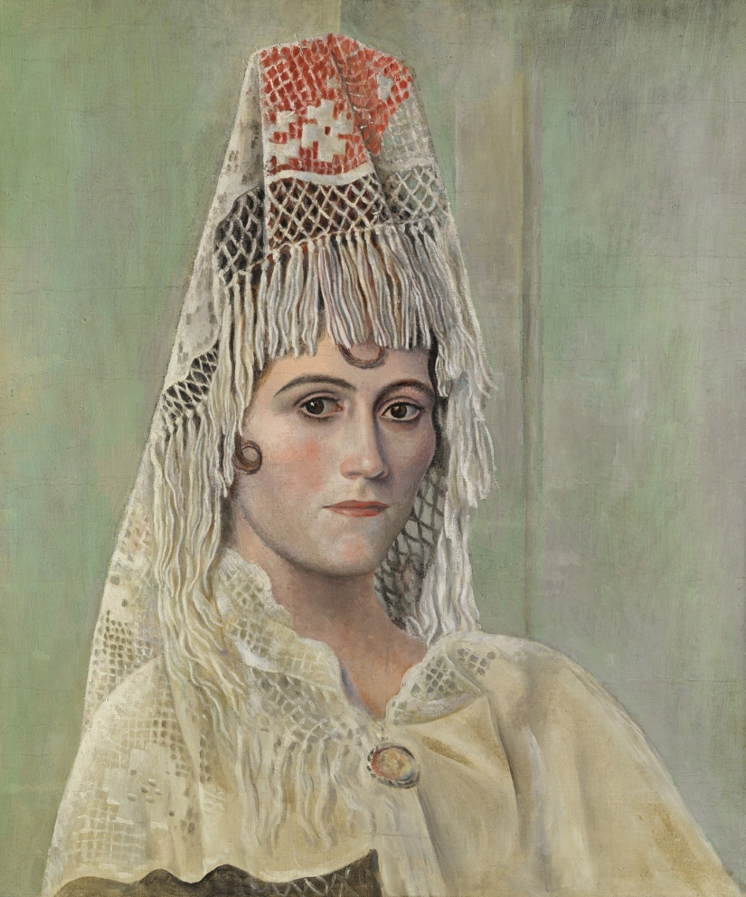 The portrait of his wife: Russian Muse of European artists