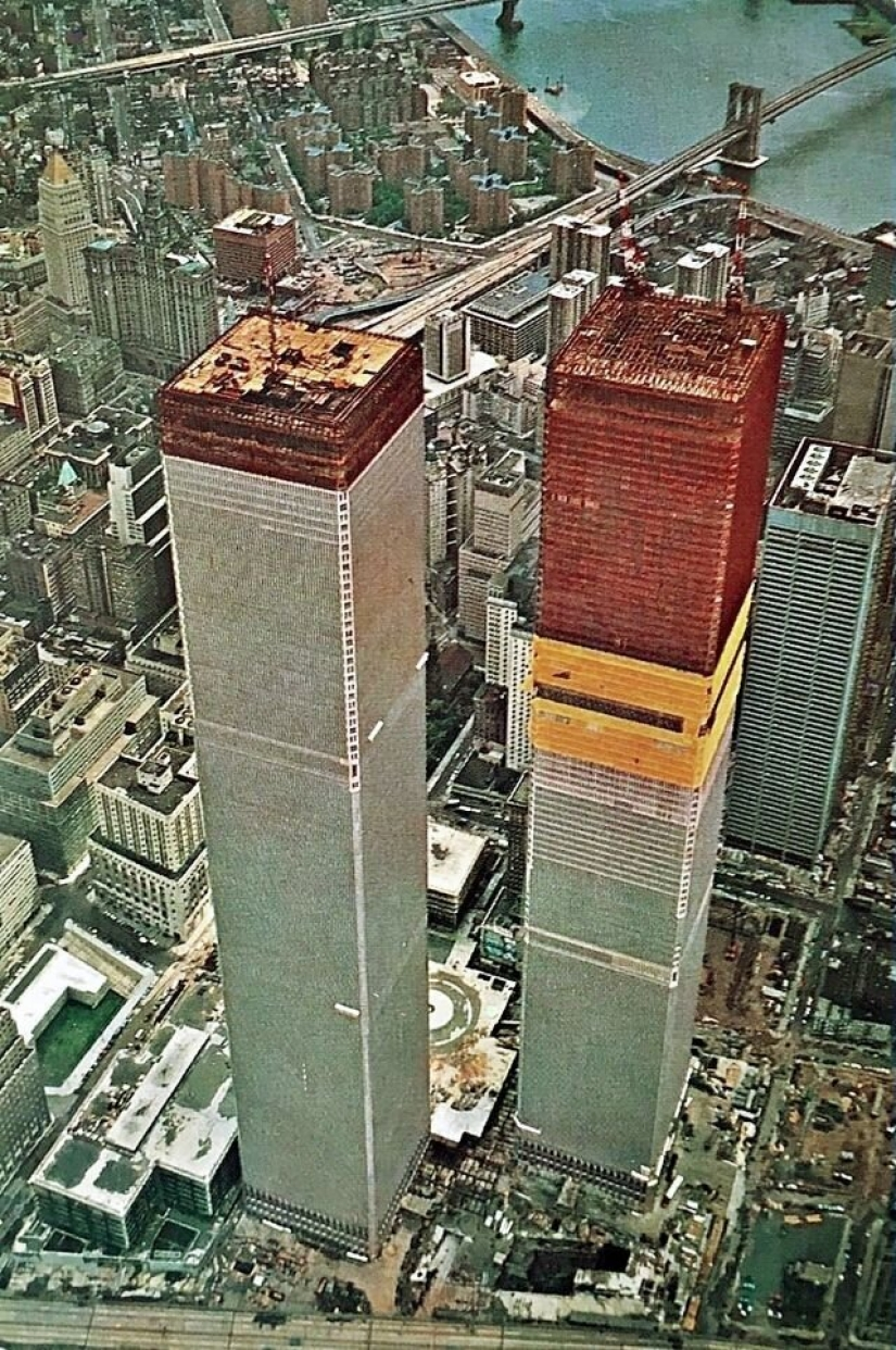 The twin towers in the 70s: how did the world trade center in the beginning