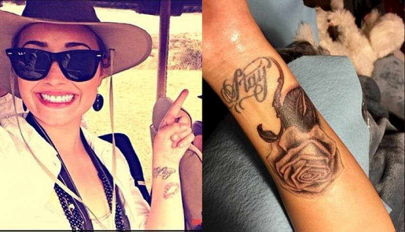 To settle or not to settle: 8 celebrities who regretted their tattoos