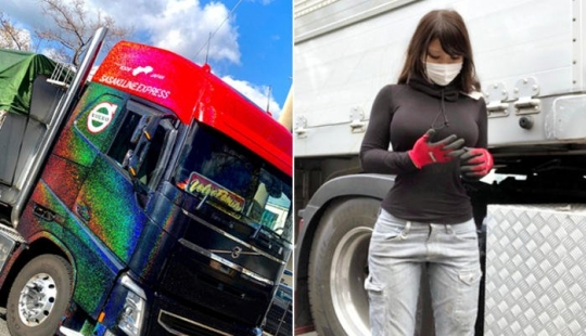 Tons of cargo and sea charm: most charming truck driver from Japan conquers the social network