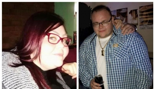 Two of the casket: a brother and sister lost 247 pounds a year the cost of enormous effort