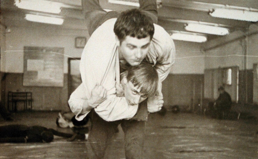 Vladimir Putin in 1970-e years worked as a stuntman on