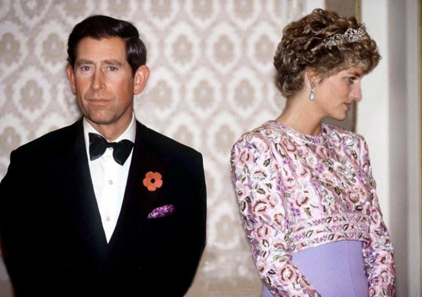 Why photographers have depicted Prince Charles Diana above