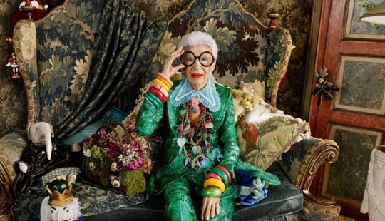10 tips on style and luxury living from iris Apfel