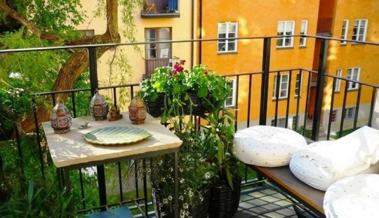 15 of the most beautiful small balcony