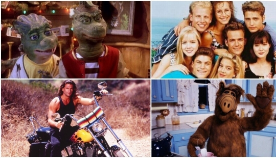 20 forgotten TV series from the 90s, which was shown on STS in the first year of broadcasting