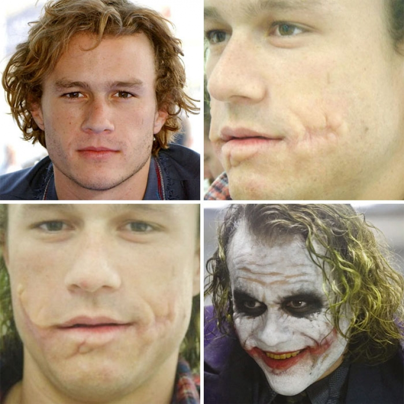 22 before and after shots showing how much effort has gone into Hollywood makeup