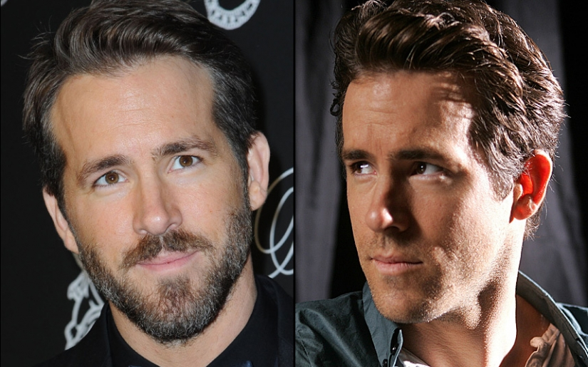 Celebrities with a beard