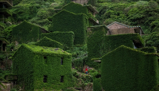Chinese village-Ghost Jutawan: attraction, from which the creeps