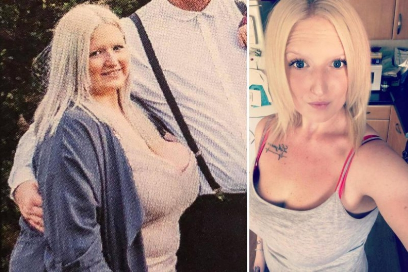 Diet fast cooking: a woman threw half the weight, eating junk food and semi-finished products
