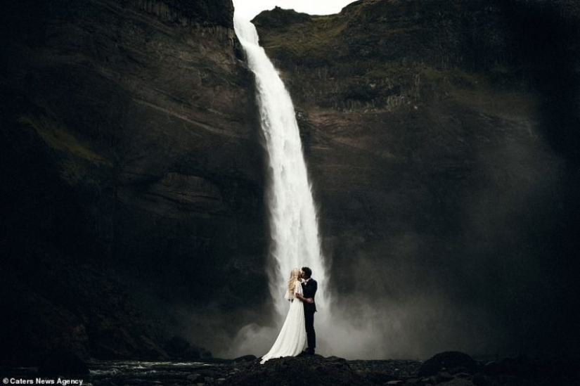 Fearless love: the wedding ceremony in the most extreme and unusual locations