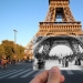 French photographer combines old and new photos of Paris