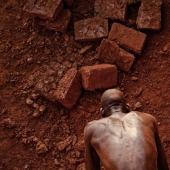 How brick is mined in Karaba, Burkina Faso