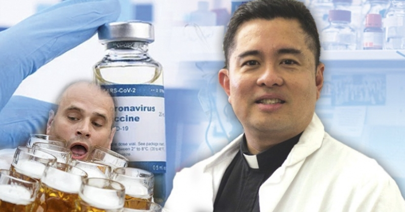 In the Philippines, has created a vaccine for COVID-19, which you can drink beer