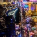 Las Vegas night from a height