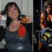 Of the 115-pound mother who loves to eat, the champion in bodybuilding
