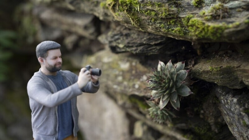 Photographer has turned into a 3D thumbnail to see the world in new ways