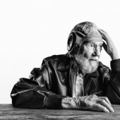 Photos of 100-year-old people