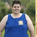 The former winner of the TV show about weight loss has turned into a real macho