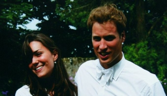 The love story of Kate and William