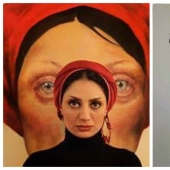 The power and the pain: soulful portraits of women Iranian artist Afarin Sajedi