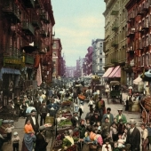 The very first color photographs of America