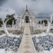 This white temple in Thailand is heaven and hell